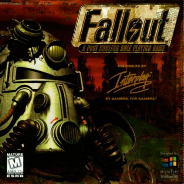 Capa do Fallout 1 para PC