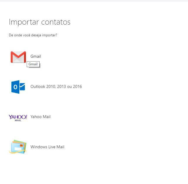 gmail no outlook - Tutorial: como importar e exportar contatos do Gmail e Outlook
