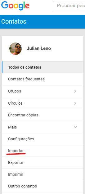 importar contatos gmail - Tutorial: como importar e exportar contatos do Gmail e Outlook