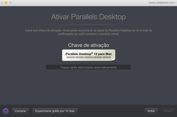 04. parallels 12 ativacao 720x477 - Tenha o Windows sempre à mão no macOS com o Parallels Desktop