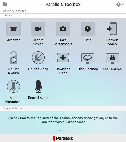 13. parallels 12 tools - Tenha o Windows sempre à mão no macOS com o Parallels Desktop