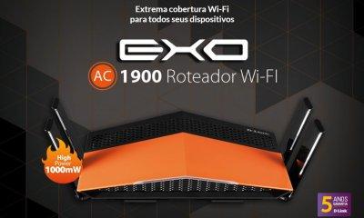 AC 1900 Capa - D-Link lança no Brasil roteador EXO AC1900