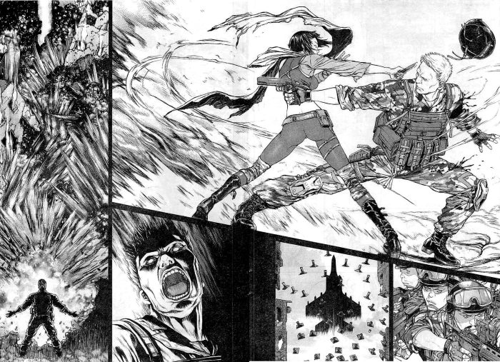 Ghost in the Shell é inspirado no mangá de Masamune Shirow
