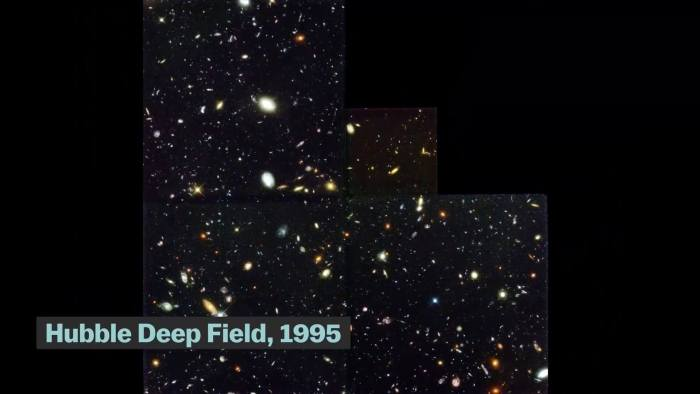 Hubble Deep Field foi a obervação mais importante da história recente da Astronomia