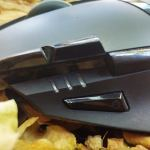 Mouse Logitech G402 close botoes DPI - Review: Mouse Logitech G402 Hyperion Fury