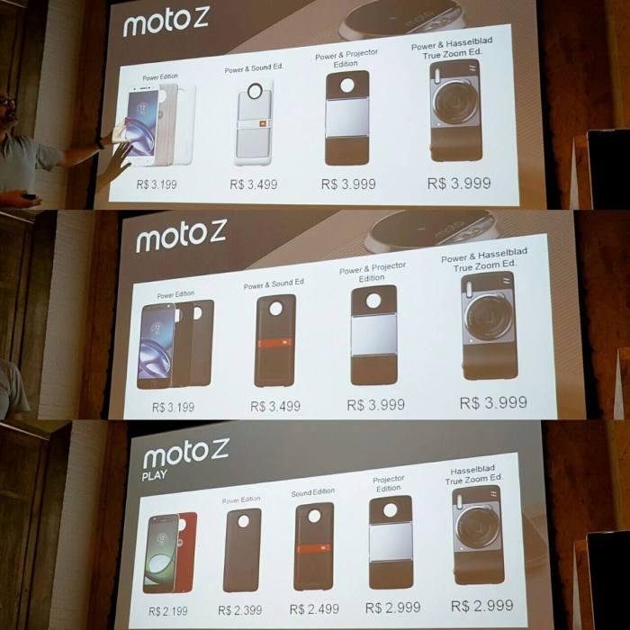 É OFICIAL: Moto Z tem preço e data de lançamento divulgados no Brasil