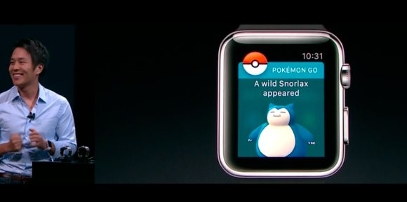 snorlax pokemon go watchos - Confira tudo que a Apple apresentou hoje