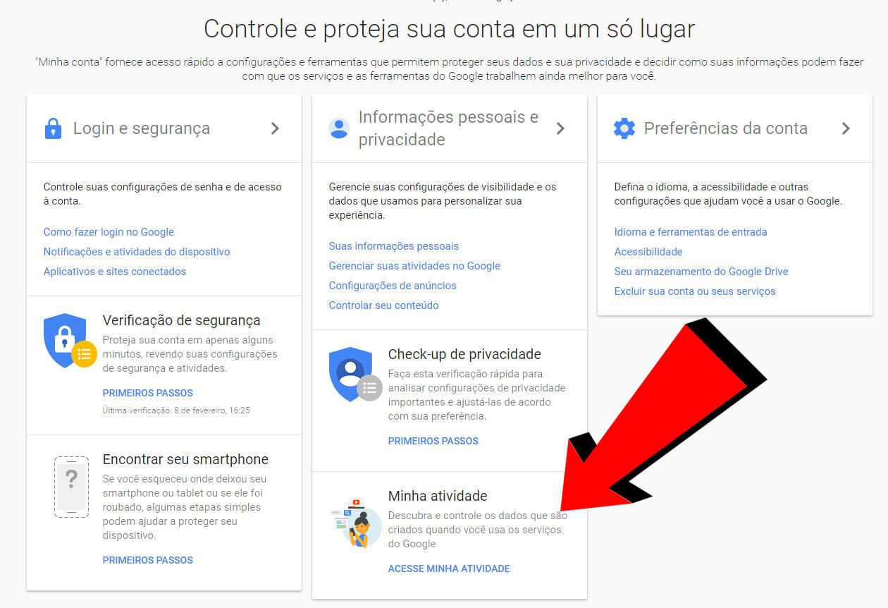 1 - Dica: como fazer o Google parar de te seguir