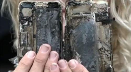 Molten iPhone 7 image 002 500x276 - Mais um smartphone pega fogo, e dessa vez é um iPhone 7
