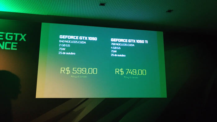 NVIDIA 01 - NVIDIA anuncia GTX 1050 e GTX 1050 Ti no Brasil