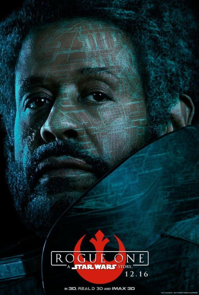"""Saw Gerrera 675x1000 - Personagens de """"Rogue One: Uma História Star Wars"""" ganham pôsteres"""