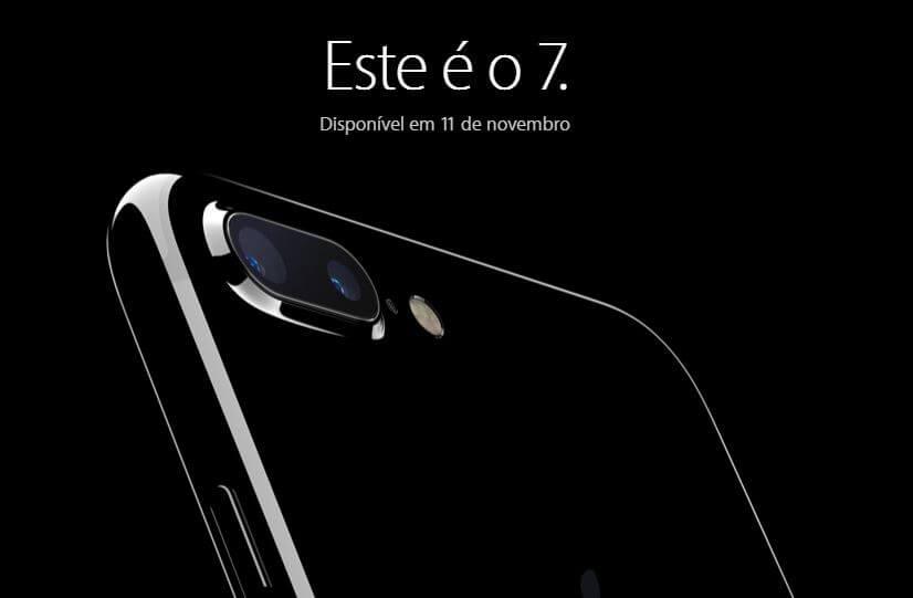 apple - iPhone 7 chega ao Brasil dia 11 de novembro. Confira os preços esperados
