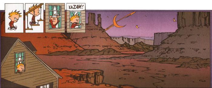calvin kazam2 1 720x300 - Arte antes do Lucro: uma homenagem a Calvin & Hobbes