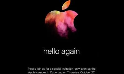 Apple evento outubro macs