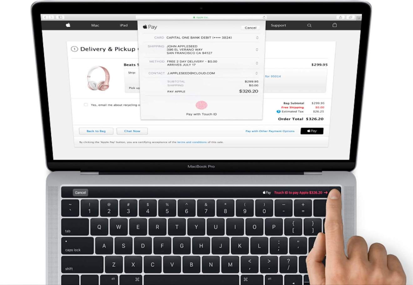 macbook pro magic toolbar - De novo, Apple? Veja a imagem que vazou do novo MacBook Pro