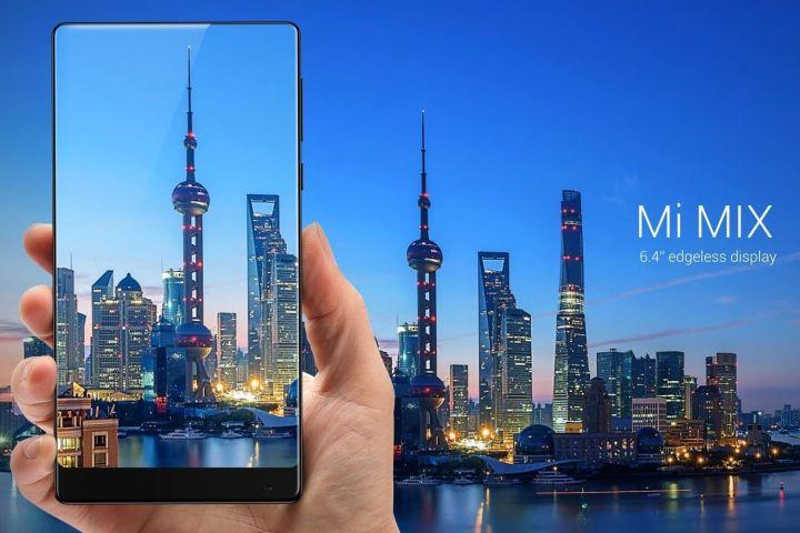 xiaomi mi mix front 720x480 - Conheça o Mi MIX, smartphone da Xiaomi com 91% de aproveitamento de tela