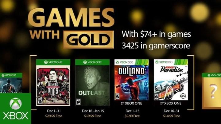 Games with gold dezembro 2016 720x405 - Games with Gold: jogos grátis na Live para dezembro de 2016