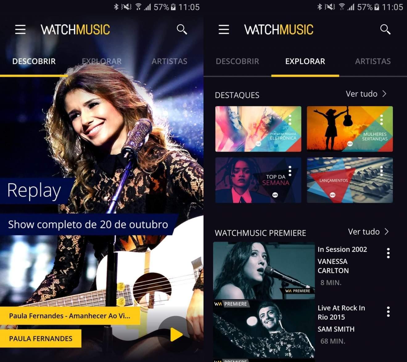 Untitled 1 2 - WatchMusic quer ser a MTV via streaming, com raizes na Vivo