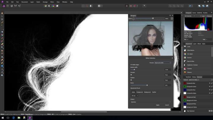 affinityphoto 720x405 - Affinity Photo, alternativa ao Photoshop, agora está disponível para Windows