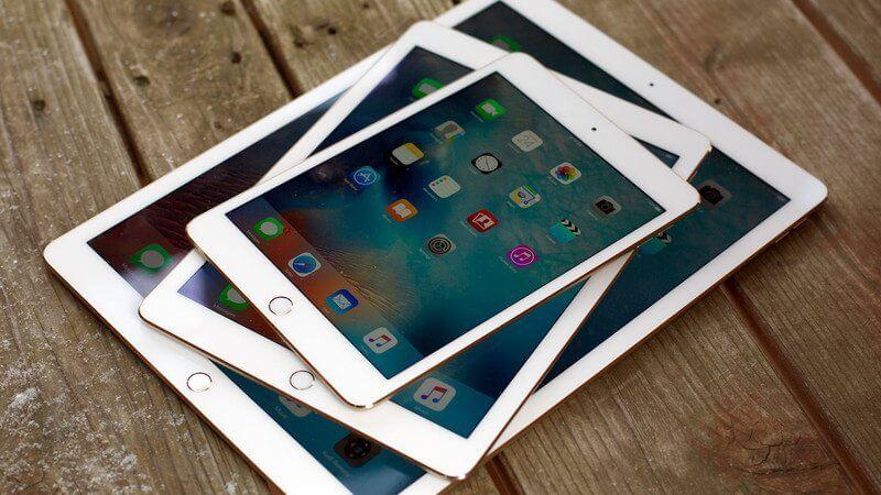 ipad mini ipad air ipad pro stack angle hero - É o fim? Mercado de tablets segue em queda pelo segundo ano consecutivo