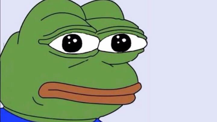pepe frog mito sad 720x404 - Bateu uma bad? A culpa pode ser das redes sociais