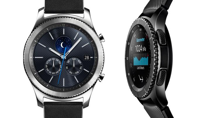 """A Samsung criou um modelo """"Classic"""" para o dia-a-dia e outro """"Frontier"""" para os mais aventureiros."""
