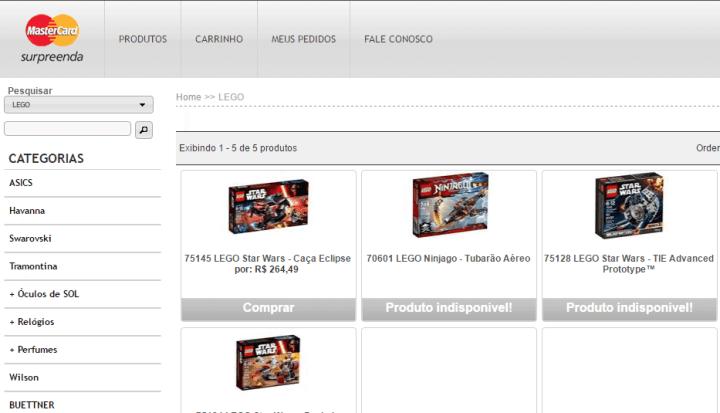 LEGO Star Wars MasterCard Surpreenda 720x413 - Tem cartão Nubank? Pague 1 e leve 2 com MasterCard Surprenda