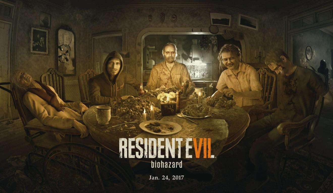 Resident Evil 7 biohazard  - 25 games mais aguardados em 2017