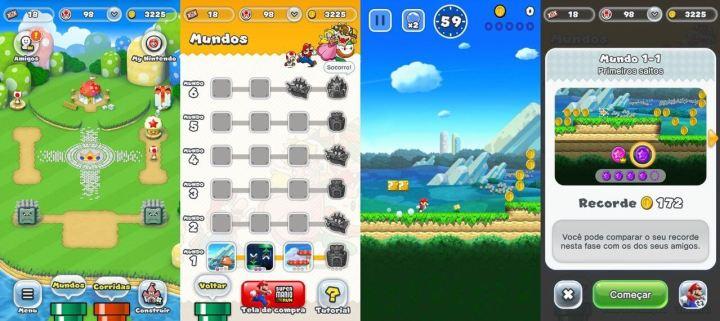 Super Mario Run telas 720x321 - Super Mario Run está chegando ao Android! Faça o pré-registro na Play Store