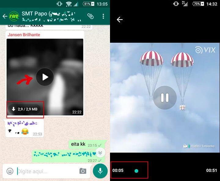 WhatsApp Streaming de video 1 720x592 - WhatsApp ganha suporte para streaming de vídeos