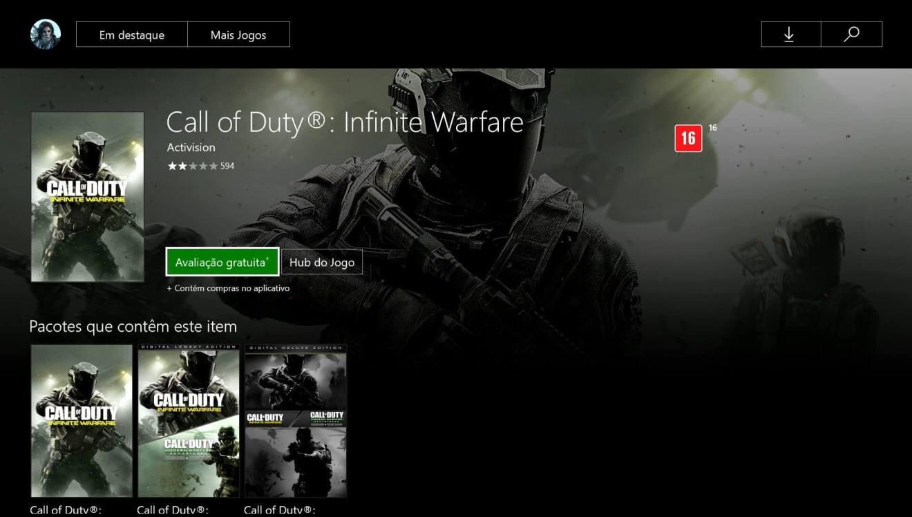 Call of Duty: Infinite Warfare avaliação grátis 8