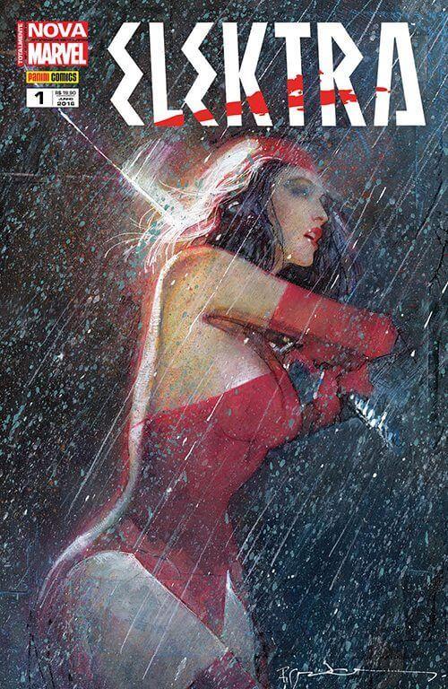 elektra 1 - Dica de HQ: Elektra #1 (Totalmente Nova Marvel) - Resenha
