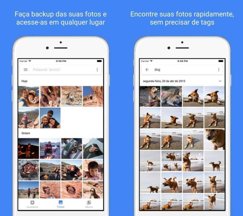 google fotos 1 - Confira os melhores apps para o iOS em 2017