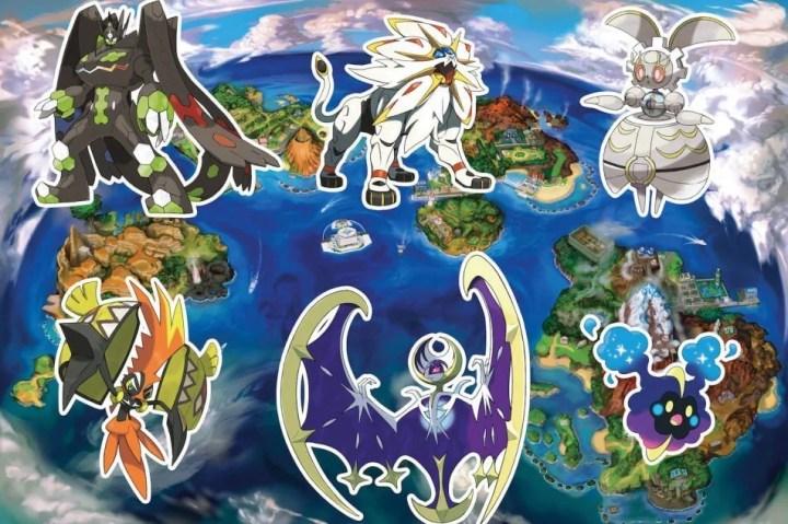 pokemon sun moon legendaries1 720x479 - Como pegar todos os lendários em Pokémon Sun & Moon