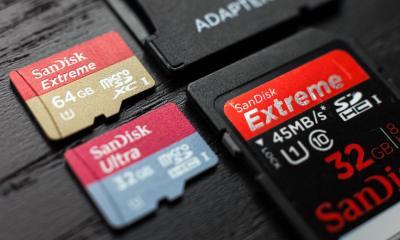 cartão memória SD microSD