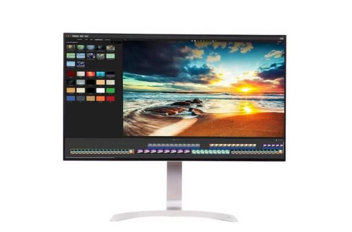 Monitor LG Borderless UHD 4K HDR 31,5 polegadas de 4 lados