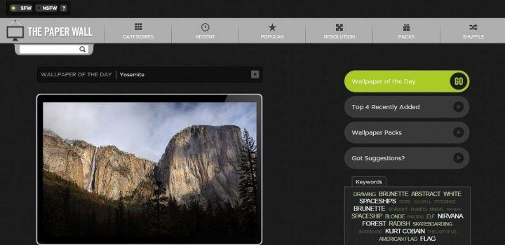 The Wall Paper 720x350 - 10 sites e aplicativos para quem precisa de Papéis de Parede no computador