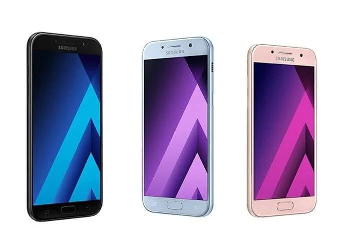 galaxy a7 a5 a3 2017 1 1 - Samsung anuncia linha Galaxy A 2017 no Brasil; veja preços e disponibilidade