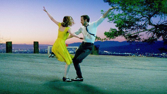 Ryan Gosling e Emma Stone em cena de 'La La Land' (Foto: Divulgação)