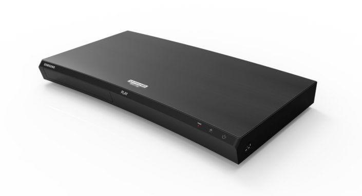 leitor de Blu ray UHD M9500 da Samsung - Blu-Ray 4K e caixas de som de Hi-Fi são destaques da Samsung na CES 2017