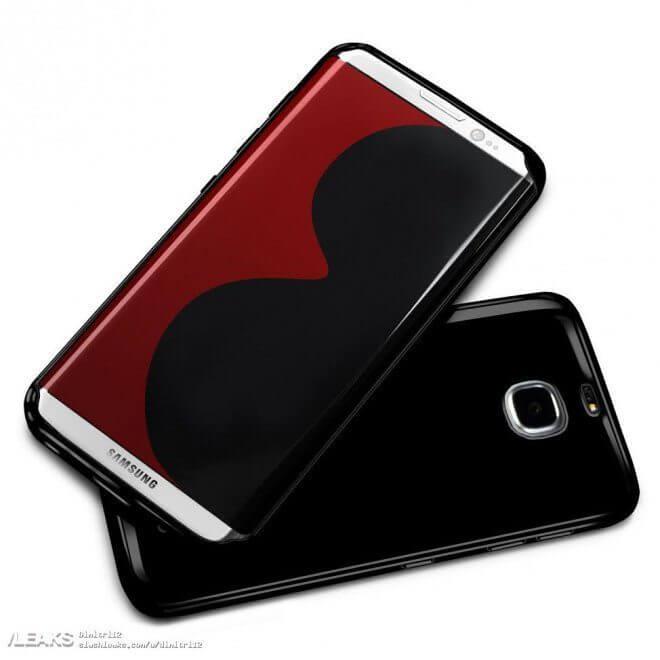 Vaza o possível design final do Samsung Galaxy S8 8