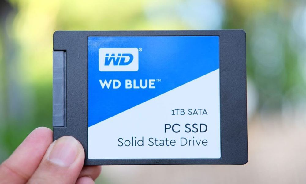 SSD WD Blue 1TB review