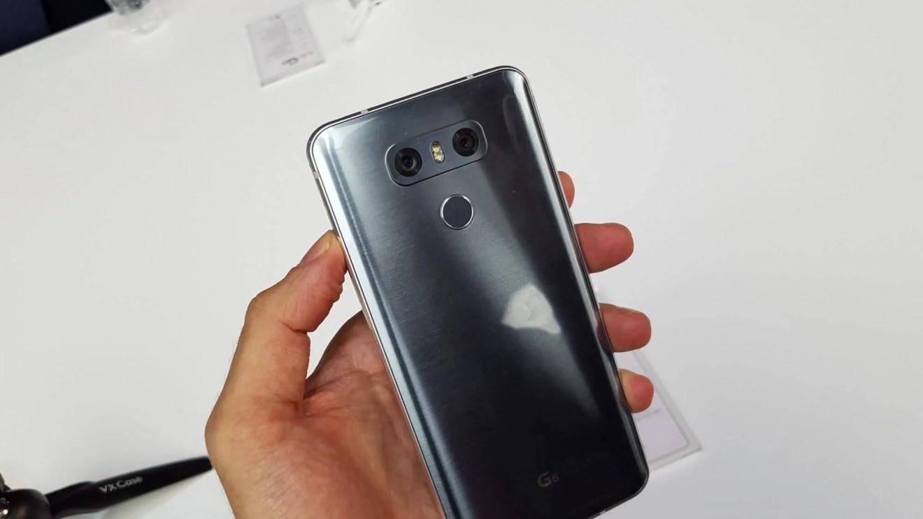 LG G6 é lançado na Mobile World Congress 22