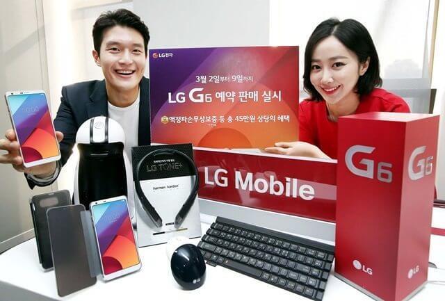 640 8 - Já é sucesso? 40 mil unidades do LG G6 foram reservadas na pré-venda