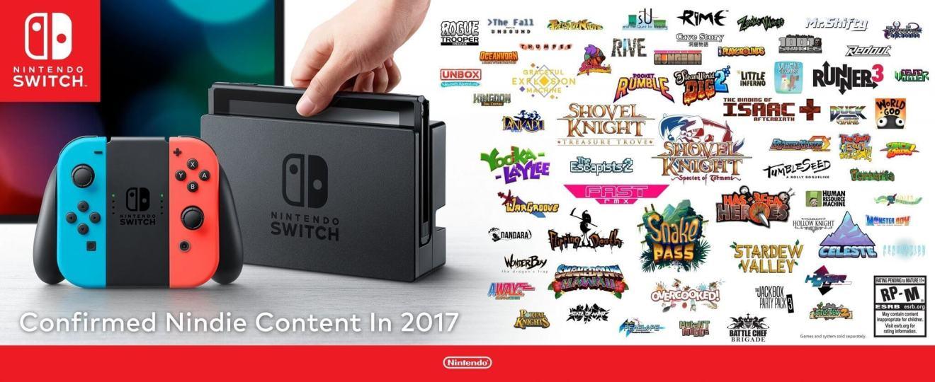 SWITCH IndieGraphic - Os melhores jogos indie que chegam para o Nintendo Switch este ano