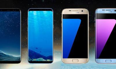 capa comparativo Galaxy S8 e S7 - Comparativo: Galaxy S7 x Galaxy S8 e Galaxy S7 Edge x Galaxy S8+