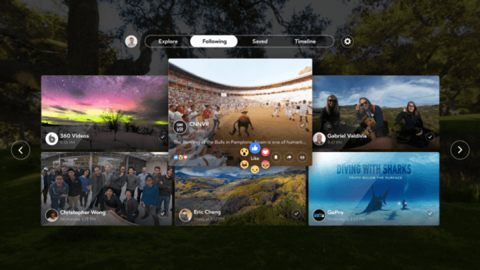 Facebook 360 chega para Samsung Gear VR e garante experiência 360° completa 4