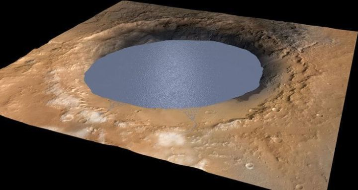 liquid water mars 720x383 - Pesquisadores sugerem que água encontrada em Marte não é água; entenda!