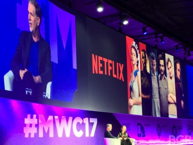 netflix ceo reed hastings mwc 2017 - MWC 2017: Em 20 anos, 90% do conteúdo que assistirmos estará online, diz presidente da Netflix