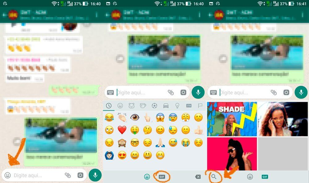 Tutorial: Como enviar GIFs no WhatsApp 7